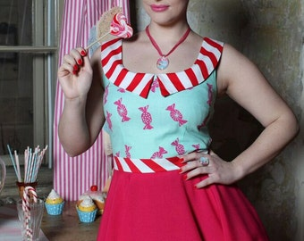 Sweet Candy dress By TiCCi Rockabilly Clothing 2015