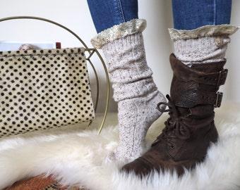 Lacey Boot Socks & Cuffs