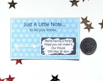 Just A Little Note Scratch Card