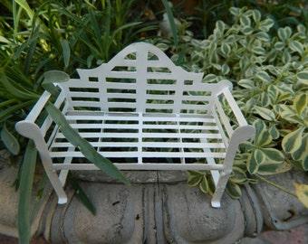 Fairy Garden Bench Miniature Acessories Fairy Garden Furniture Fairy Furniture