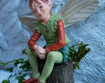 Fairy Garden Supply-Cicely Mary Barker Fairy Elf-Miniature Garden Fairy-Christmas Miniatures-terrarium Supplies Flower Fairy