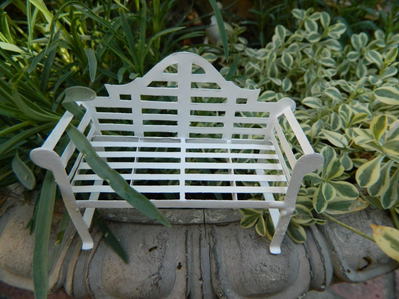 Fairy Garden Bench Fairy Garden Bench Miniature Acessories Fairy Garden Furniture