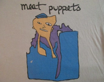 MEAT PUPPETS 80s T SHIRT