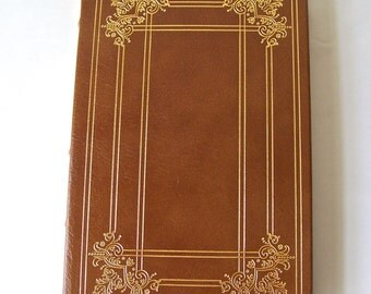Vintage Songs Of Innocence and Of Experience William Blake 22k Gold Accents Full Leather Bound Franklin Library Hardcover Book Printed 1980