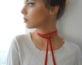 Velvet Ribbon, Velvet Choker,collar necklace, Victorian choker, red wine velvet choker, ribbon choker, velvet ribbon, necktie