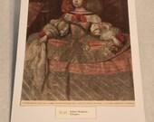 "1937 Art Print ""Infanta Margarita"" by Diego Velaszuez"