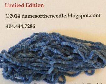 Limited Edition Blue Chenille