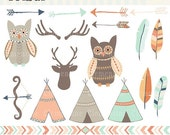 60% OFF SALE - Tribal clip art images,  tribal clipart, tribal vector, royalty free clip art- Instant Download