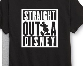 Family Disney Vacation tee! Boys and Girls tees! Mickey and Minnie - Family T's - Matching tee shirts - Disneyland - Striaght outta