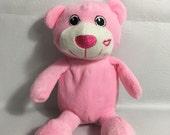 Personalized PINK BEAR Stuffie