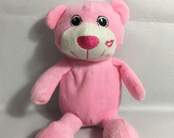 Personalized PINK BEAR Stuffie