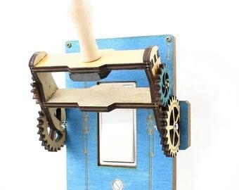 Functional Steampunk Rocker Throw Switch - 8101D