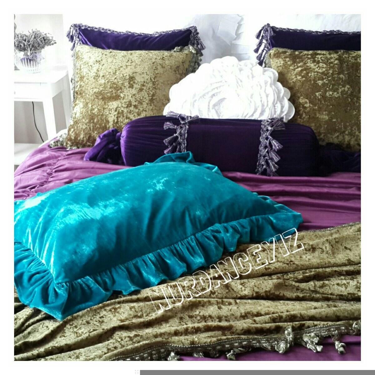 Peacock forter Teal Bedroom