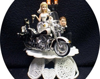 wedding cake topper harley davidson motorcycle harley davidson 56 wedding cake topper motorcycle bike bike 26335