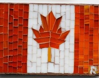 Flag Canadian Mosaic GADEE