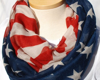 Flag infinity scarf