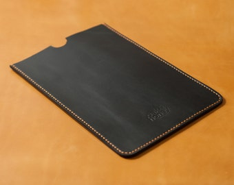 Full Grain Leather iPad Mini Sleeve