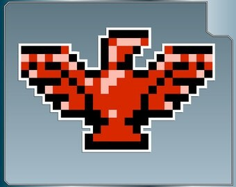 MASS DESTRUCTION Falcon Sprite vinyl decal from Contra Sticker for just about anything!
