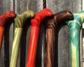 Derby handle cane