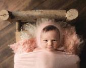 Angora Photo Prop Bonnet, Newborn Angora Bonnet Photo Prop Bonnet Angora Bonnet Newborn Photo Prop Bonnet Luxury Angora Bonnet, Newborn Size