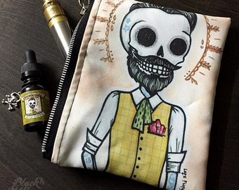 Hipster Zipper Bag by Lupe Flores