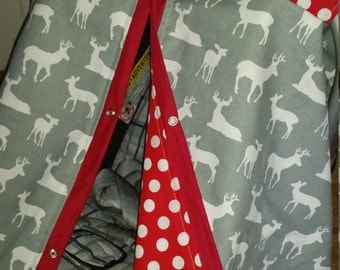 Carseat Canopy Grey Deer YoU CHOOSE DoT.. 11 colors to choose