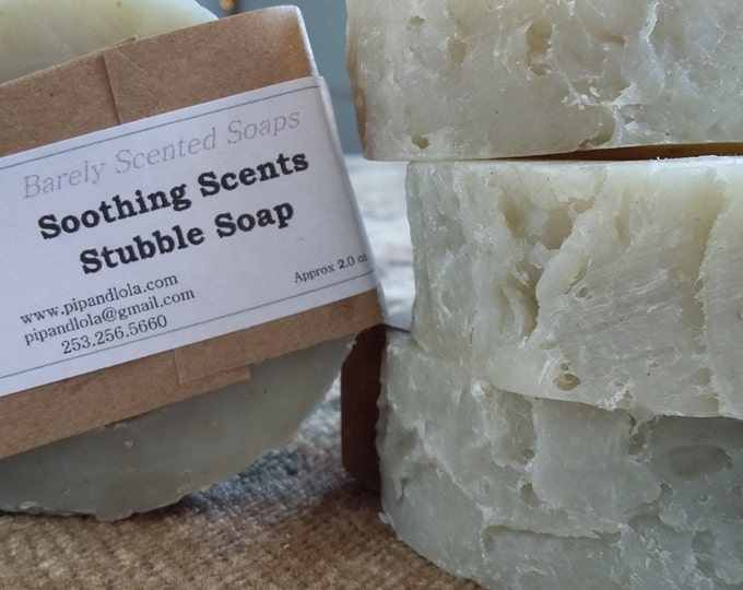 Sami's Soothing Stubble Soap - Palm Free, Shave Soap