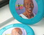 Michael Jordan Mc Donalds Fitness Fun Challenge Frisbees (2)