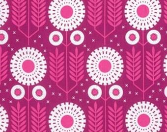1 Yard Prairie Bloom Rosetta, Wander Collection by Joel Dewberry, Quilting Cotton, Modern Tribal Fabric