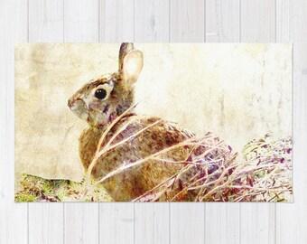 Rug, Spring Bunny