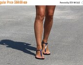 20% Delicate And Stylish Barefoot Style Leather Thong Sandals - Sensation