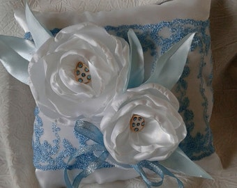 Ellegant Wedding Ring Bearer Pillow