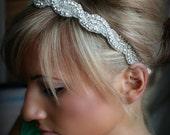 ON SALE Rhinestone Headband, AMARA, wedding headband, hair accessories, bridal headband, wedding, bridal hair piece