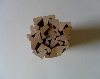 lot of 12 scrabble blocks | scrabble trays | scrabble replacements | scrabble tile trays | wooden scrabble trays