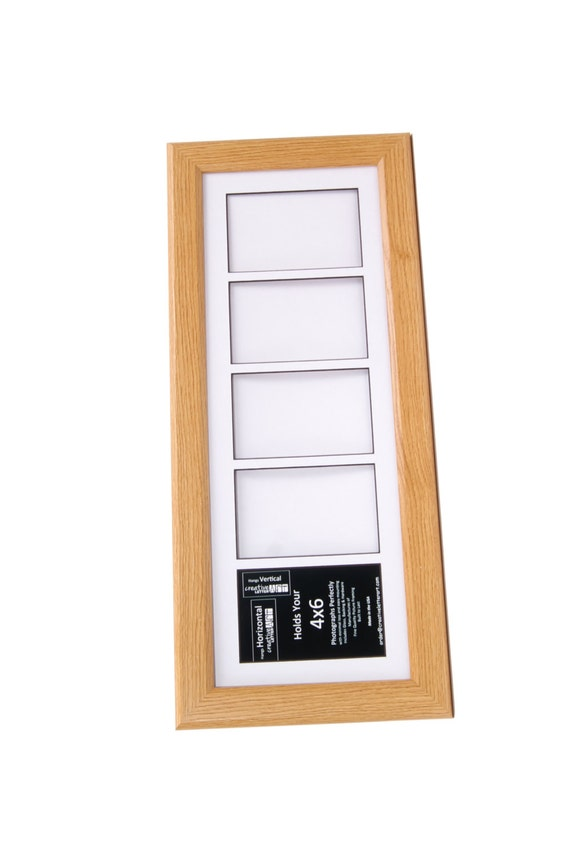 Oak Picture Frame With 3 4 5 6 7 8 9 10 Multi Opening