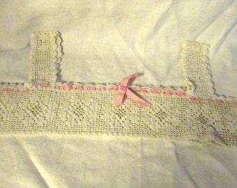 Hand Crochet Vintage Halter/Bra