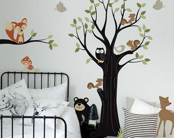 Adorable Animals wall decal