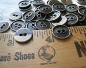 """13MM Buttons Antique Brass Indented 2mm holes wrap bracelet fastener 1/2"""" 20L jewlery clasp accessories bulk paper tag supply metal bronze"""