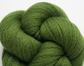 Sourwood Green Recycled Extra Fine Grade Merino Lace Weight Yarn, 3686 Yards Available
