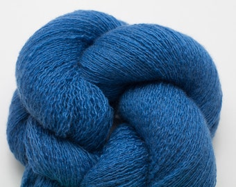 Cerulean Cashmere Lace Weight Recycled Yarn, CSH00068