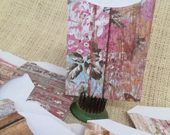 Farmhouse Garden Mini Paper Pocket Envelopes