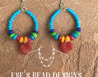 Fun and Colorful Summer Earrings