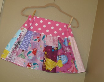 Every Princess skirt-  6, 6x, 7, 8 maybe a 10  -ready to ship - Belle, Cinderella, Disney, Snow White,