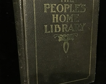 Antique Herbal Formulary c. 1919 The People's Home Library at Gothic Rose Antiques