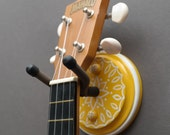 Instrument Wall Hanger Hook for Ukulele, Fiddle, Mandolin, Violin or Guitar - Ready to Ship