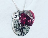 Personalize - Create your own - Miscarriage Jewelry - Miscarry Jewelry - Miscarrige Necklace -Miscarriage Gift - Mother's Day Gift