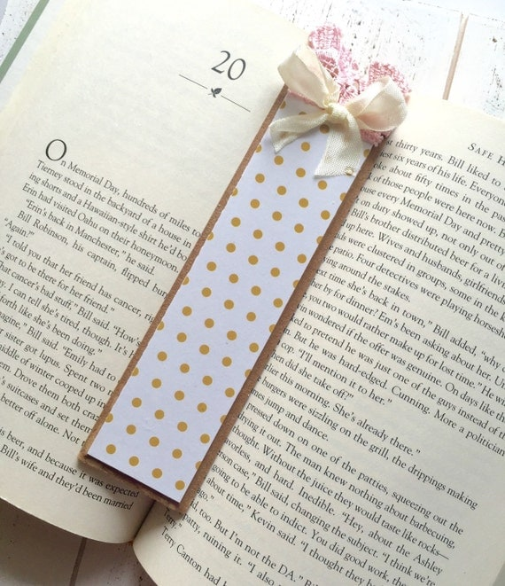 Products Bookmarks Design Inspiration And: Items Similar To Beautiful Handmade Bookmark, Gold And