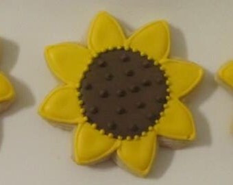 SunFlower Cookies 2 dozen