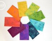 Sun Print Grove Fat Quarter Bundle, 9 Pieces, Alison Glass for Andover Fabrics, 100% Cotton Fabric, A-7753