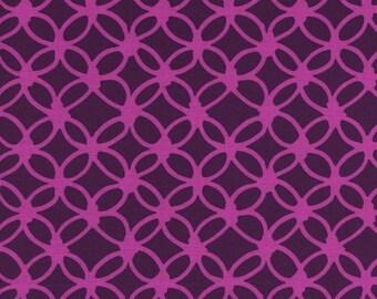 Macrame Knotty in Grape, Rashida Coleman Hale, Cotton+Steel, RJR Fabrics, 100% Cotton Fabric, 1933-1